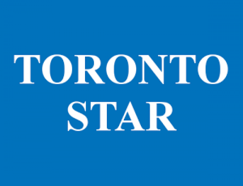 Sandra in the Toronto Star – 2014