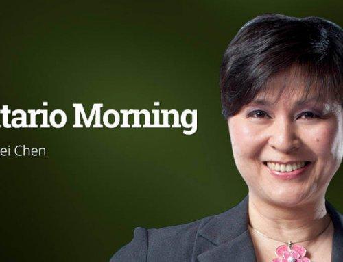 Sandra on CBC Ontario