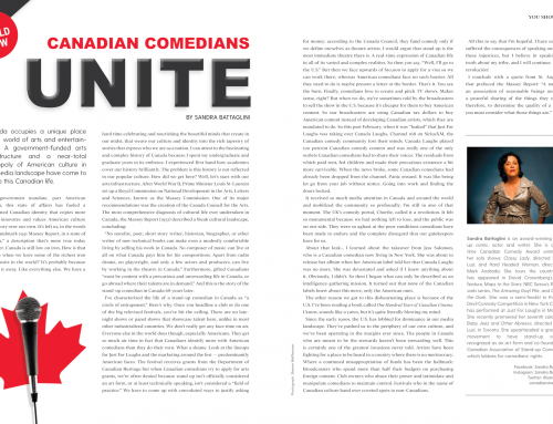 Canadian Comedians Unite